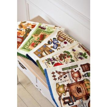 Полотенце кухонное велюровое