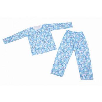 Детская пижама на кокетке
