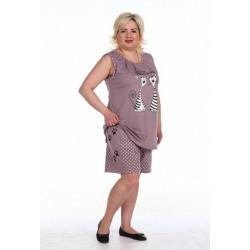 """Пижама женская """"са-2283"""" (большие размеры)"""