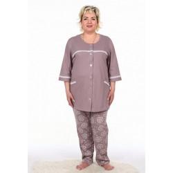 """Пижама женская """"са-2469"""" (большие размеры)"""