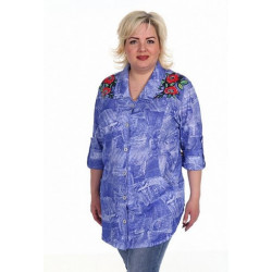 """Рубашка """"са-2245"""" (большие размеры)"""