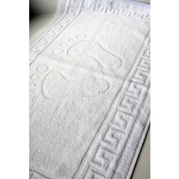 Полотенце махровое для ног белое