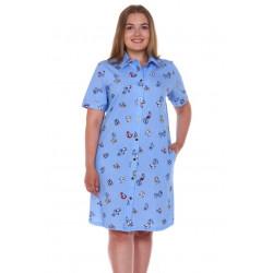 """Рубашка-халат женская """"м-1235"""""""