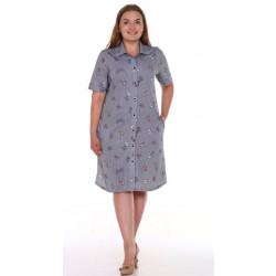 """Рубашка-халат женская """"м-1235/1"""""""