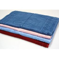 Полотенце махровое для ног цветное